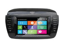 For Fiat Pratico 2010~2013 – Car GPS Navigation + Stereo Radio DVD Player 1080P HD Touch Screen Multimedia System