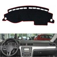 For VW Passat 2011 2015 Auto Car Dashboard Cover Avoid Light Pad Instrument Platform Dash Board