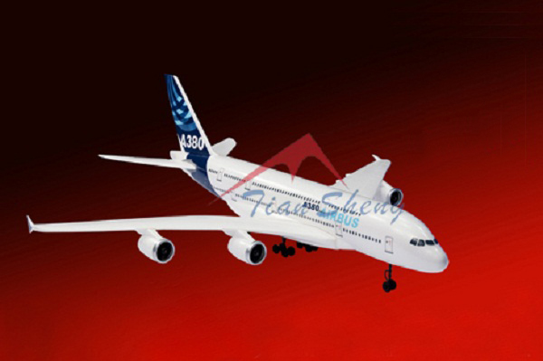 TSRC EPO 55MM EDF A380 Airbus RC RTF Plane Model W/ Motor Servo 30A ESC Battery