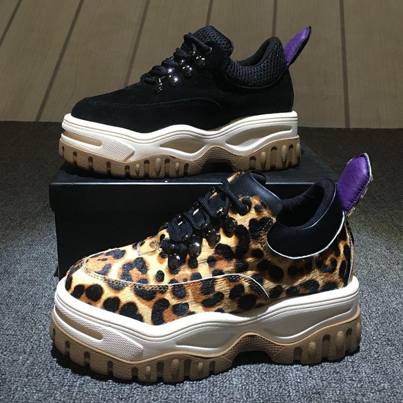 New leather shoes women scarpe donna ladies shoes dames schoenen chaussures femmes de luxe de marque creepers цена