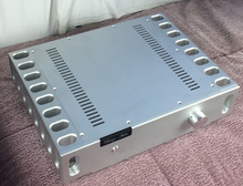 BZ4309  Full aluminum enclosure Power amplifier chassis/box size 430*96*328mm