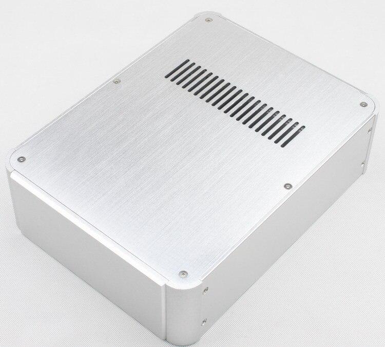 BZ4307 Full aluminum Preamplifier box Power amplifier chassis DAC Decoder case