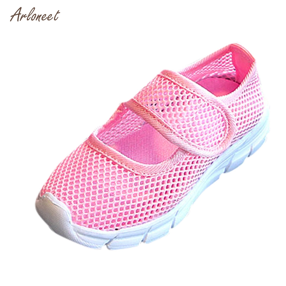 ARLONEET TKids Boys Girls Baby Closed Toe Sports Sandals Casual Mesh Sneakers Beach Shoes _E31