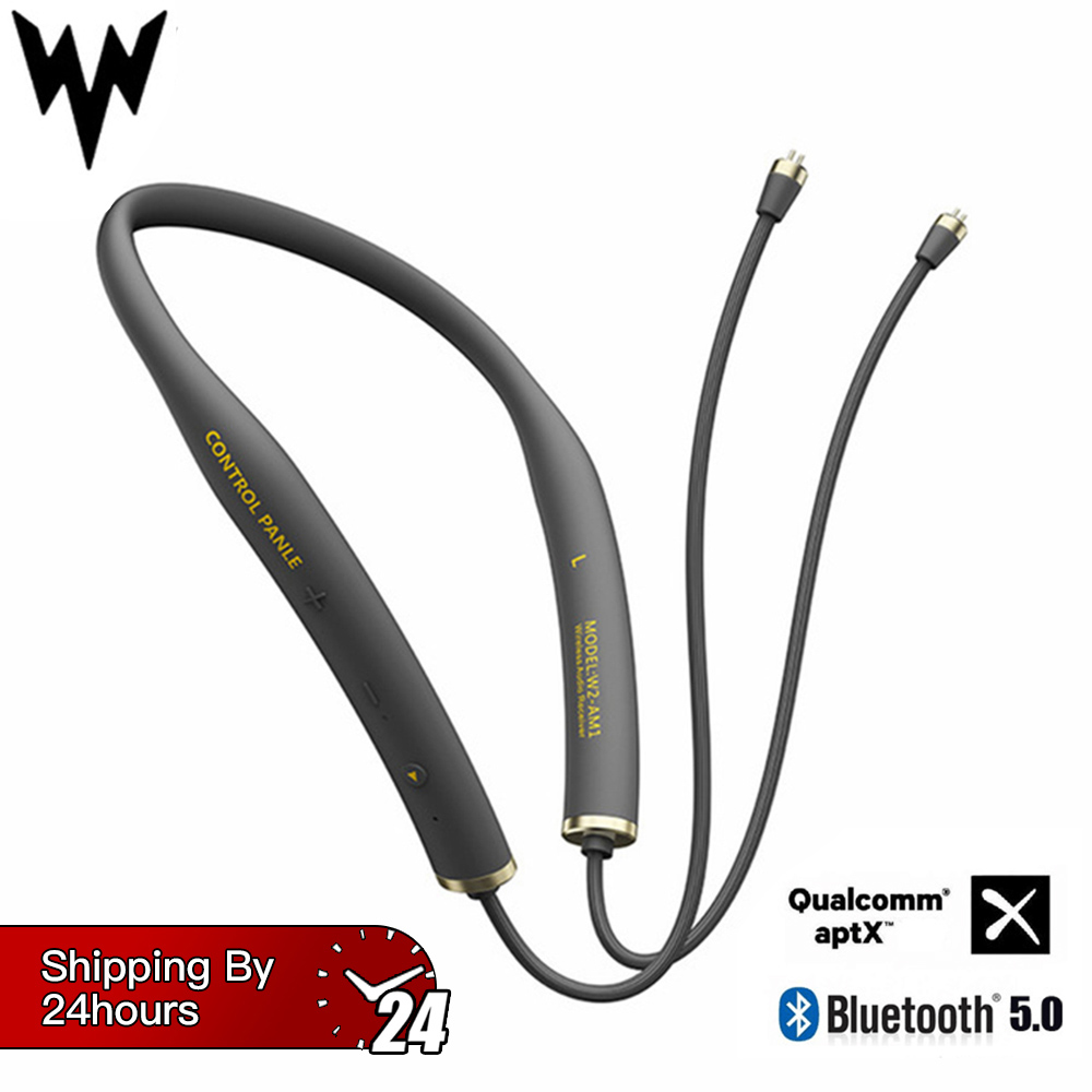 W2-AM1 Wireless Bluetooth V5.0 Earbuds Cable Upgrade Module 2PIN MMCX Connector Support Apt-X with Mic For Android iOS PhoneW2-AM1 Wireless Bluetooth V5.0 Earbuds Cable Upgrade Module 2PIN MMCX Connector Support Apt-X with Mic For Android iOS Phone