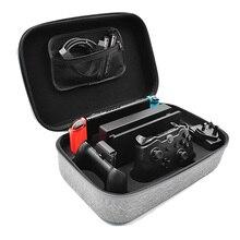 Nintend Schalter NS Konsole Durchführung Lagerung Tasche Fest für Nintend Schalter Konsole Zubehör Schutzhülle Tragbare Reisetasche Tasche