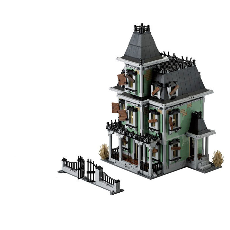 16007 2141Pcs Monster fighter The haunted house Model set Building Kits Model Compatible With 10228 Toys For Children