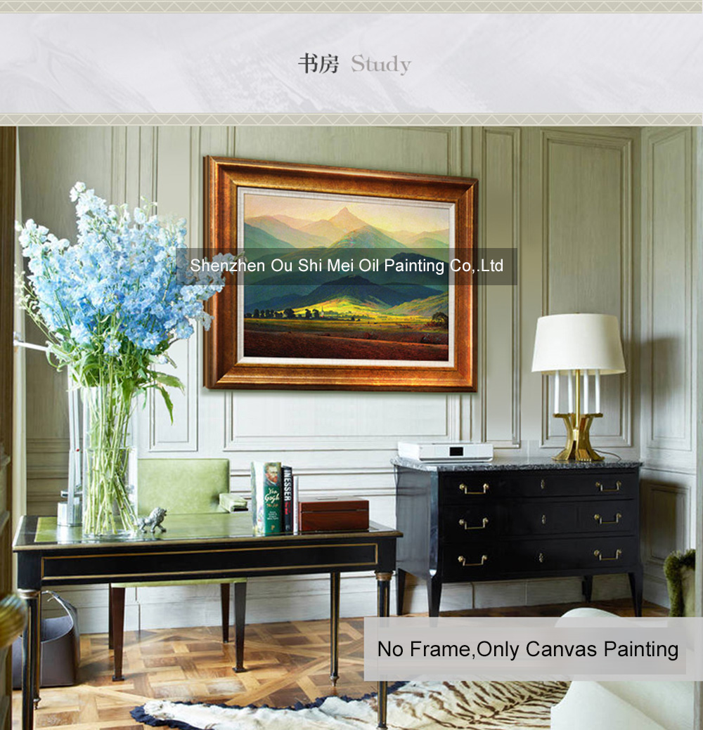 Painting Of Living Room European Style Decorative Oil Painting For Living Room Restaurant
