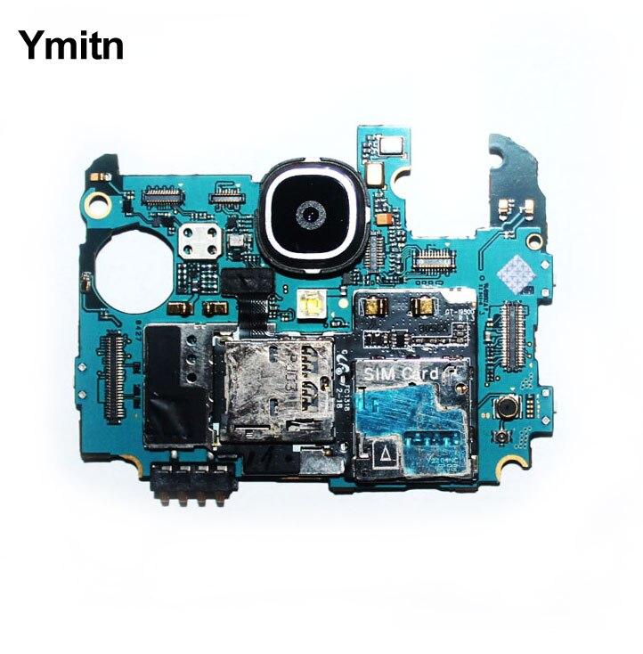 Ymitn 100% travail Carte Mère 16 GB Débloqué Officielles Mainboad Avec Puces Carte Logique Pour Samsung Galaxy S4 i9500 i9505