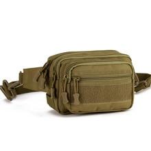 Tactical Running Waist Bag Military felszerelés deréktáska vízálló lábzsák táska női és férfi