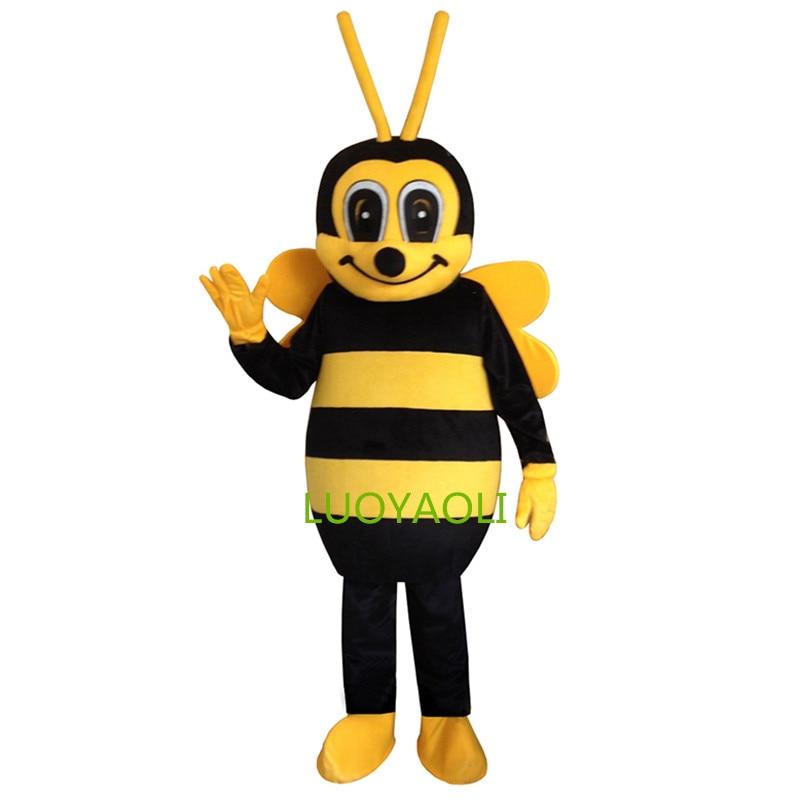 Hornet Bee Maskot Kostýmy Vosk Maskot Kostým Včelí Maskot Kostým Doprava zdarma