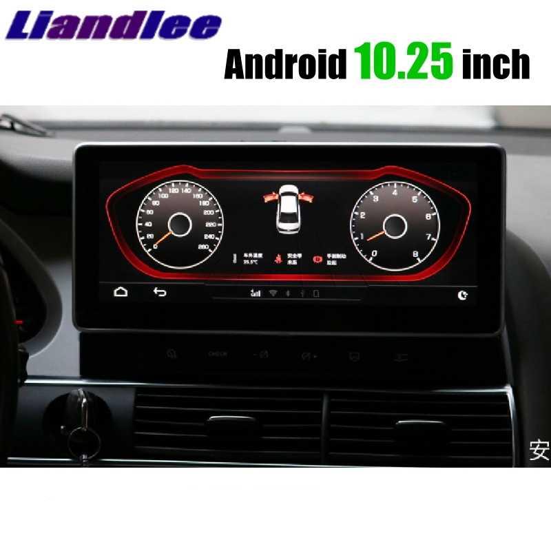 """Liandlee 車マルチメディアプレーヤーナビアウディ Q7 4L V12 2005 〜 2015 MMI 4 グラム RAM CarPlay 10.25"""" gps 画面ナビゲーション"""