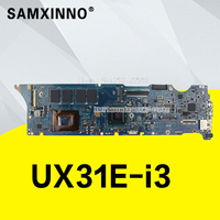 UX31E with I3 2367 Processor 4 GB RAM memory board for ASUS UX31 UX31E Laptop motherboard 100% testing works well