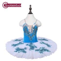 Детская белая балетная пачка белого лебедя одежда для сцены для девочек классические балетные костюмы для танцевальных конкурсов