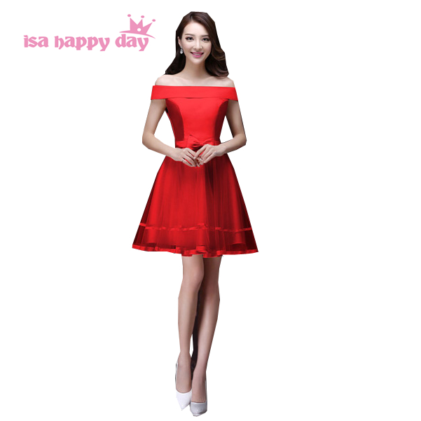 special occasion teen short dresses high fashion dress 2017 new arrival elegant formal gowns for girls wedding occasions H2903