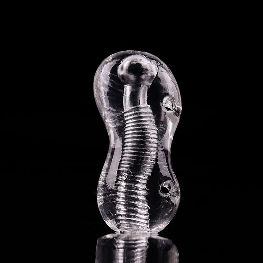 Male Masturbator Sex Toys For Men Vagina Transparent Silicon Pussy Pocket Pussy Vagina Adult Sex Products