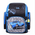 wholesale DELUNE Children Cartoon 3D Car Pattern Boys School Bags Waterproof Foldable Orthopedic School Backpacks
