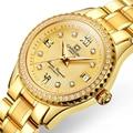 Neue Schweiz Karneval Luxus Marke Uhr Frauen Automatische Mechanische Dame Uhren Diamant Wasserdicht Relogio Feminino C8629L 6-in Damenuhren aus Uhren bei