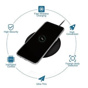 Image 3 - DASENLON ワイヤレス充電器、チー高速充電ワイヤレスパッドすべてのワイヤレス充電対応携帯電話