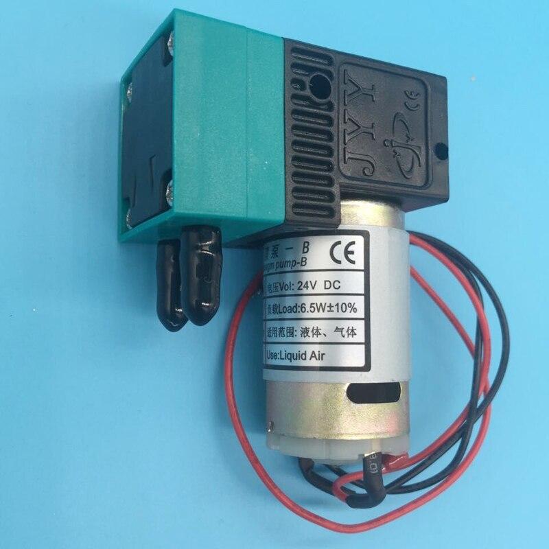 2 pièces avec imprimante à solvant couleur Allwin eco 6.5w micro pompe à encre pour Challenger Infiniti Phaeton Flora 24V 300-400 ml/min pompe