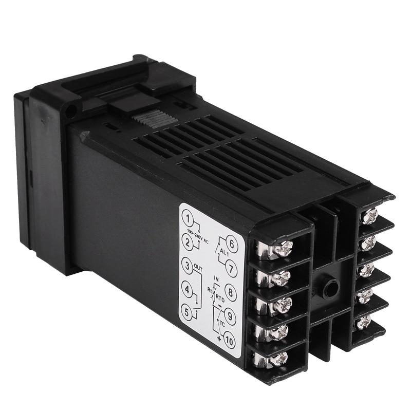 Dvigubas skaitmeninis RKC PID temperatūros valdiklis REX-C100 su - Matavimo prietaisai - Nuotrauka 3