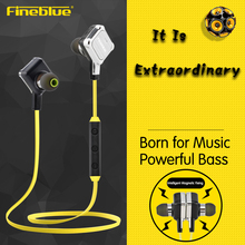 FineBlue FA-90 Sports Neck Hanging High Quality Magnetic Stereo Bluetooth4.1 Headset Sweat proof IPX-4