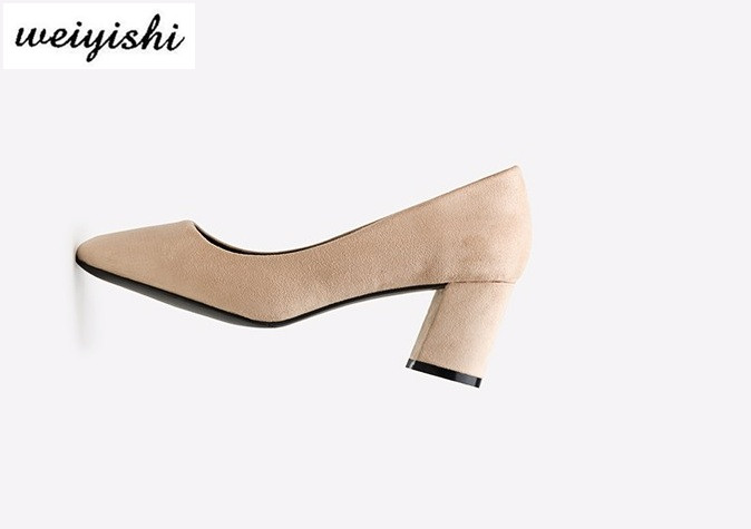 2018 women new fashion shoes lady shoes weiyishi brand 018