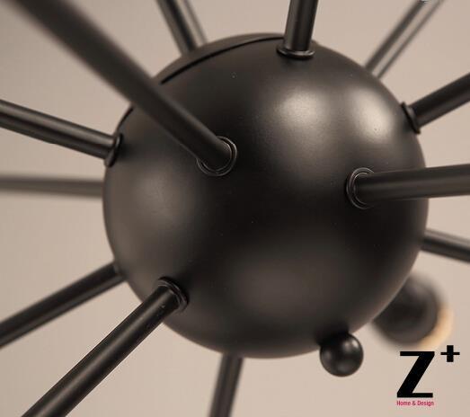 Replika maddəsi American Style Sputnik asma işıq lampaları Edison - Daxili işıqlandırma - Fotoqrafiya 2
