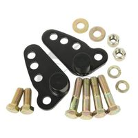 Black Adjustable Lowering Kit For Harley Street Glide Electra Road Ultra 02 15