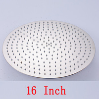 Wholesale And Retail Chrome Polished Bathroom Shower Head 16 Inch Raindall Shower Head