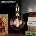 Edison bulb G125 globe Retro filament antique bulb vintage lamp bulb squirrel cage filament design 220v e27 40W decor light