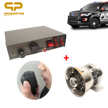 1set Universal Super Laut DC12V 200w Sirene Lautsprecher Alarm System Zug Schiff Auto Waring Horn Lautsprecher Megaphon Multi -ton Horn