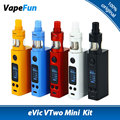 Original joyetech evic vtwo mini cigarrillo electrónico kit vaping kit con Cubis Pro vs VTWO MINI Caja MOD eVic VTC Mini