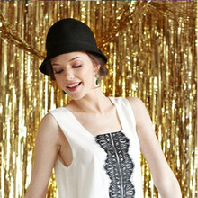 1m*2m wedding backdrop tinsel curtain photo booth backdrop foil door curtain birthday sequin backdrop mermaid party decorations