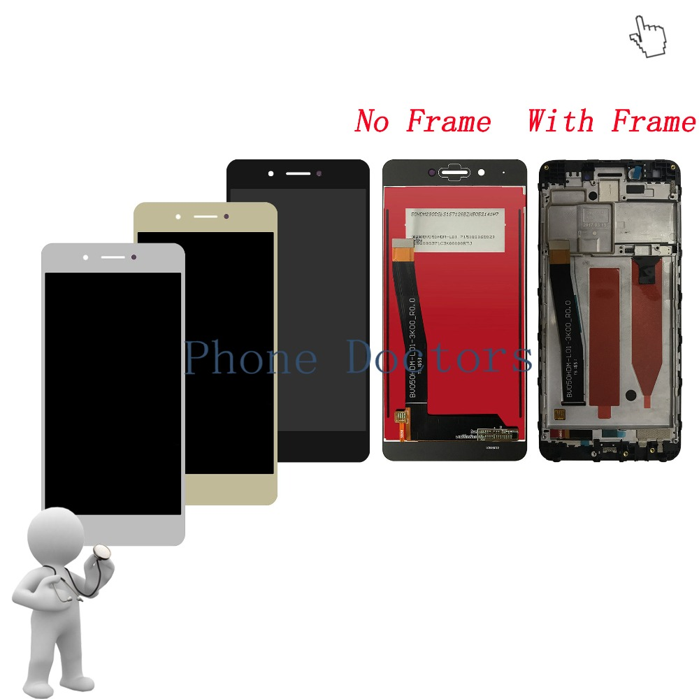 5.0 inch Full LCD DIsplay+Touch Screen Digitizer Assembly + Frame Cover For Huawei Honor 6C DIG-L01 / Nova Smart / DIG-L21HN