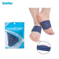 1 par de fascitis Plantar plantillas ortopédicas arco talón ayuda pies cojín arco ortotico apoyo talón Cuidado del pie alivio del dolor Z57501
