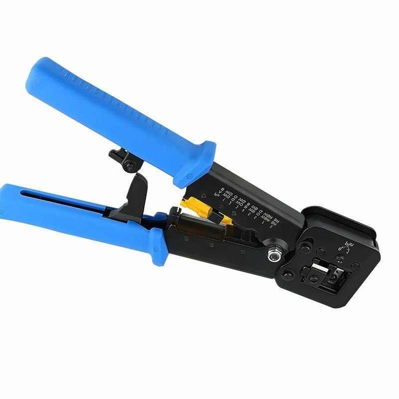 Многофункциональный EZ rj45 щипцы ручной сетевые инструменты щипцы rj12 cat5 cat6 8p8c для зачистки кабеля нажав Клещи Щипцы клип