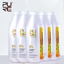 Супер дешевые купить 5 шт. получить 1 бразильский формалина обработка волос кератина 5% 1000 мл выпрямитель для волос