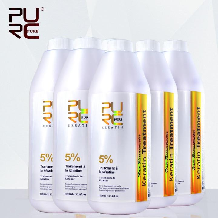 Супер дешевые оптовая продажа купить 5 шт. получить 1 бразильский формалина обработка волос кератина 5% 1000 мл выпрямитель для волос бесплатна...