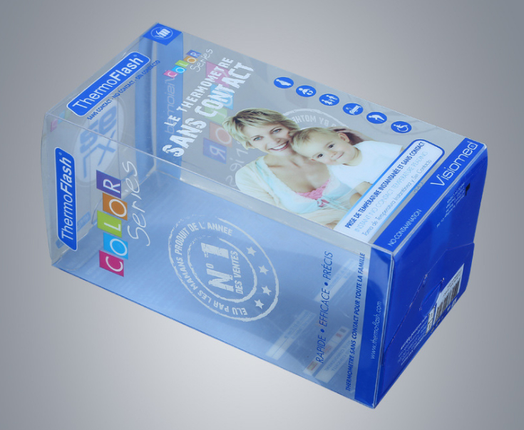 Wholesale manufacturers Square Plastic PVC box clear PET frosted PP box for gift ---PX20363(China)