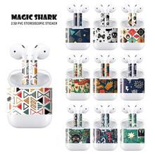 Magic Shark Personalize And Dramatically Change The Look Of Your For Apple Airpods Skin Sticker Easy To Install Stalk Skin Over