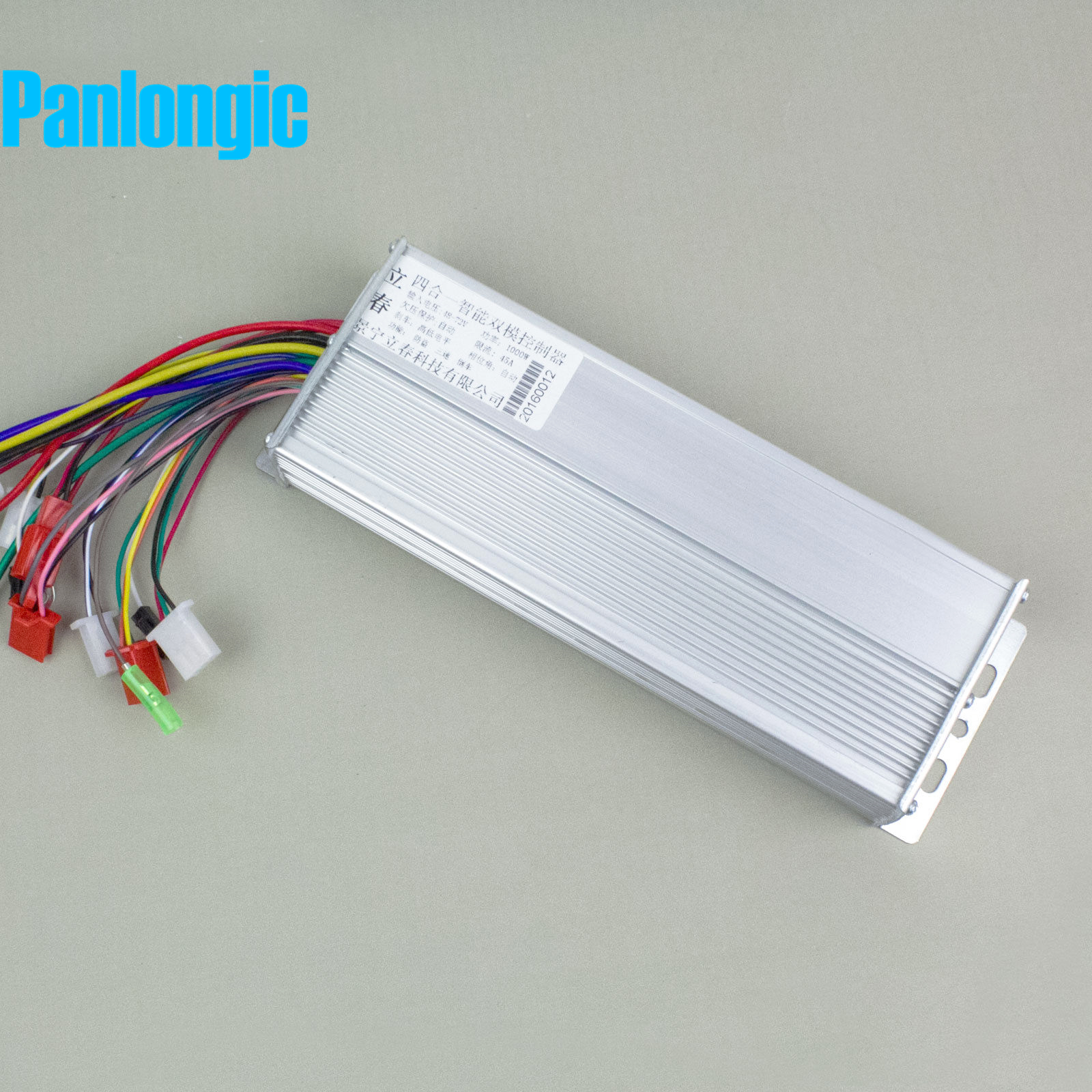 Panlongic 48-72V 1000W Electric Bicycle E-bike Scooter Brushless DC Motor Speed Controller fast shipping 1000w 60v dc 24 mofset brushless motor controller e bike electric bicycle speed control