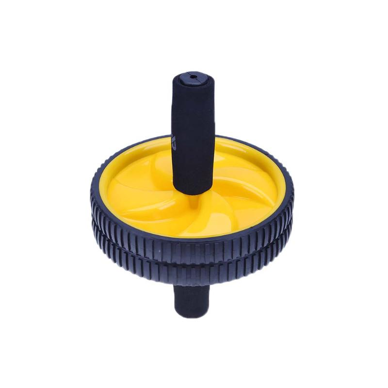 Home Use Exercise Wheel Exerciser Fitness Workout Gym Roller Great Fitness Equipment Body Double Wheel Roller