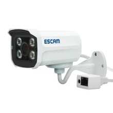 Escam QD300 Micro Cctv Surveillance 720P Bullet Wired Onvif Security Camera Cmos Night Vision Indoor Outdoor 1MP Mini IP Camera