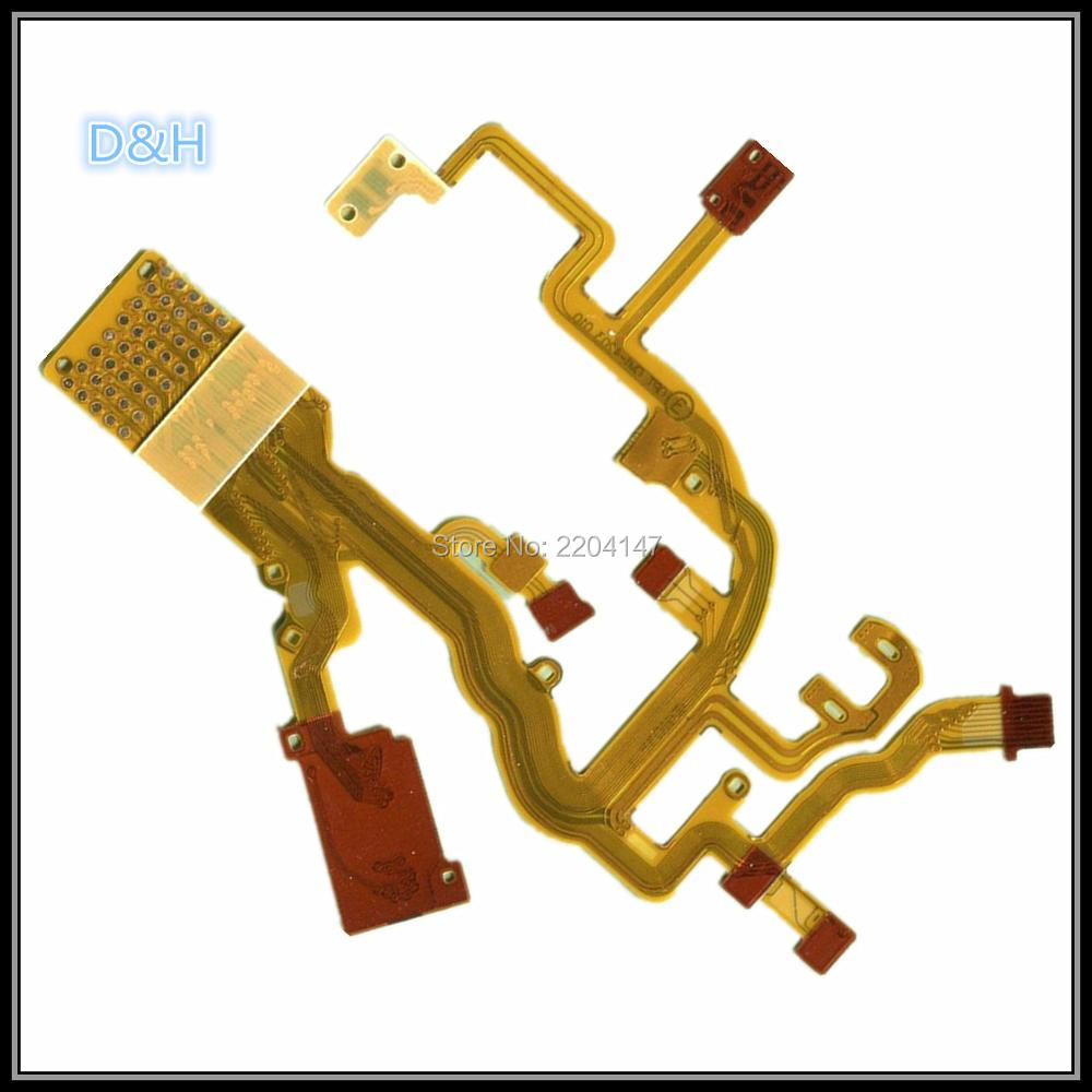 Good quality NEW Lens Zoom Back Main Flex Cable For CANON PowerShot G7 G9 Digital Camera Repair Part image