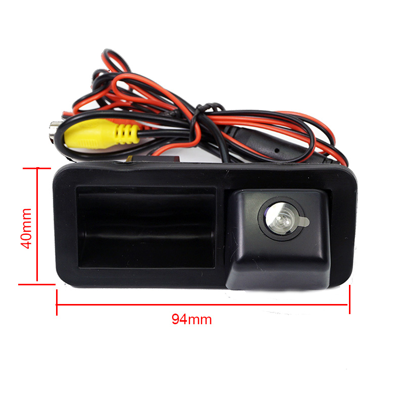 Color Hd Car Trunk Handle Reverse Rear Camera For Ford