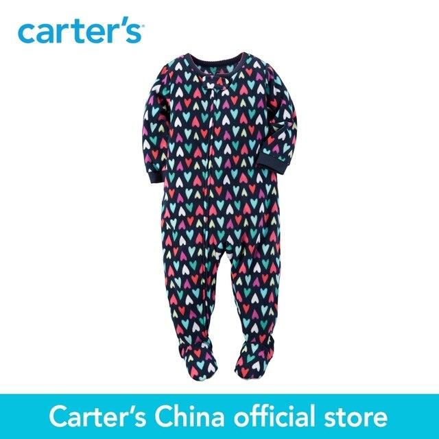 Картера 1 шт. детские малыши детей Микрофлис PJs 377G090, продавец картера Китай официальный магазин