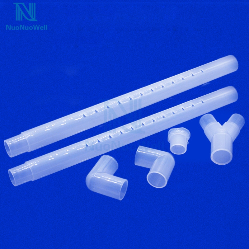 NuoNuoWell 2PCS-Pack DIY 20MM Transparent Rain Pipe Aquarium Filter Tank Outflow Pipe Spray Rain Bar External