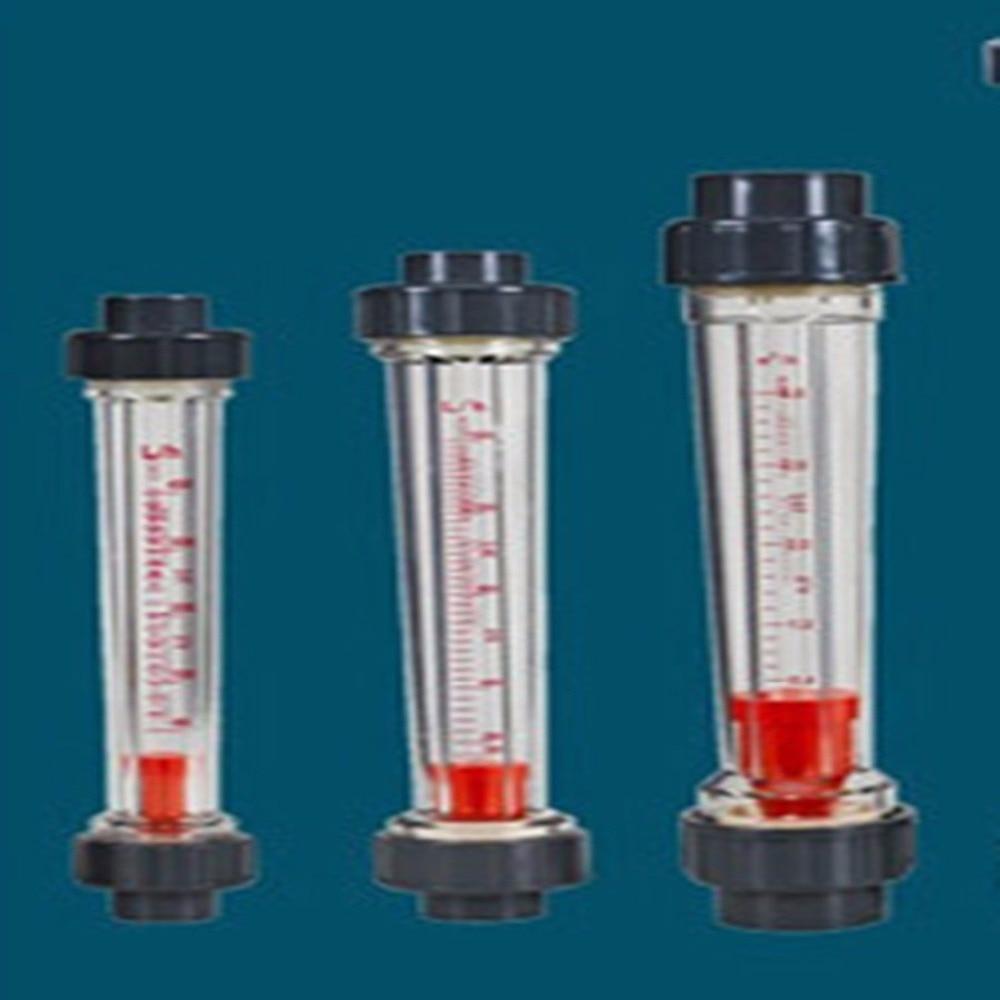 LZB-50S Rotameter wit 0.6-6m3/h Flow range plastic water flow meter short tube ,LZB50S Tools Flow Meters plumbing цена