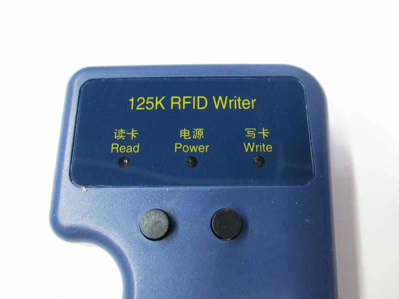US $11 99 |RFID Reader Writer 125KHz ID Card Keyfob duplicator  Duplicate/Copy Door System + 10 EM4305 Key Fobs-in Control Card Readers  from Security &