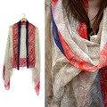 2016 новый Бали зима и взрыв Леди шарф платок солнцезащитный крем европейский моды глушитель шейный платок